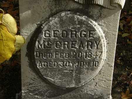 MCCREARY, GEORGE - Morrow County, Ohio | GEORGE MCCREARY - Ohio Gravestone Photos