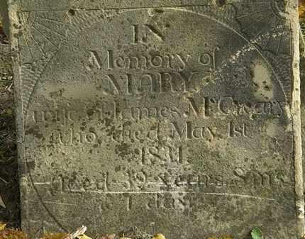 MCCREARY, MARY - Morrow County, Ohio | MARY MCCREARY - Ohio Gravestone Photos