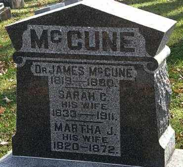 MCCUNE, MARTHA J. - Morrow County, Ohio | MARTHA J. MCCUNE - Ohio Gravestone Photos