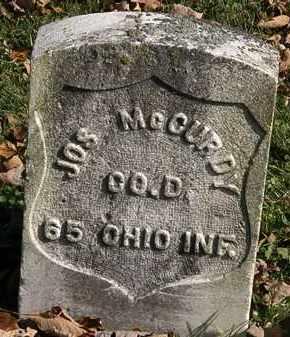 MCCURDY, JOS. - Morrow County, Ohio | JOS. MCCURDY - Ohio Gravestone Photos