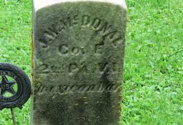 MCDONALD, J.W. - Morrow County, Ohio | J.W. MCDONALD - Ohio Gravestone Photos