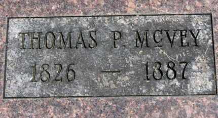 MCVEY, THOMAS P. - Morrow County, Ohio | THOMAS P. MCVEY - Ohio Gravestone Photos