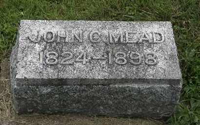 MEAD, JOHN C. - Morrow County, Ohio | JOHN C. MEAD - Ohio Gravestone Photos