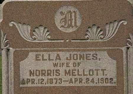 MELLOTT, ELLA - Morrow County, Ohio | ELLA MELLOTT - Ohio Gravestone Photos