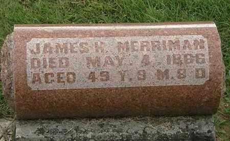 MERRIMAN, JAMES H. - Morrow County, Ohio | JAMES H. MERRIMAN - Ohio Gravestone Photos