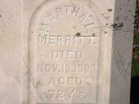 MERRITT, MARTHA L. - Morrow County, Ohio | MARTHA L. MERRITT - Ohio Gravestone Photos