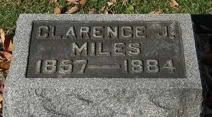 MILES, CLARENCE J. - Morrow County, Ohio   CLARENCE J. MILES - Ohio Gravestone Photos