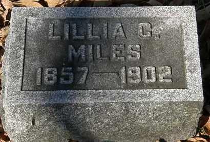 MILES, LILLIA C. - Morrow County, Ohio   LILLIA C. MILES - Ohio Gravestone Photos