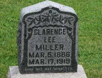 MILLER, CLARENCE LEE - Morrow County, Ohio   CLARENCE LEE MILLER - Ohio Gravestone Photos