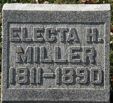 MILLER, ELECTA H. - Morrow County, Ohio | ELECTA H. MILLER - Ohio Gravestone Photos