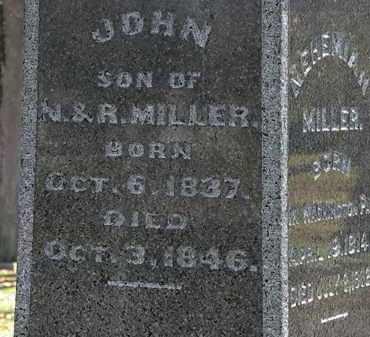 MILLER, JOHN - Morrow County, Ohio | JOHN MILLER - Ohio Gravestone Photos