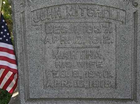 MITCHELL, JOHN - Morrow County, Ohio | JOHN MITCHELL - Ohio Gravestone Photos