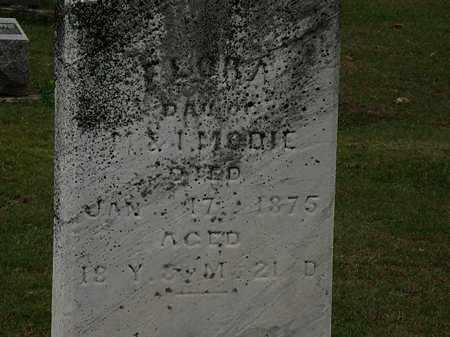 MODIE, FLORA - Morrow County, Ohio | FLORA MODIE - Ohio Gravestone Photos