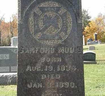 MODIE, SANFORD - Morrow County, Ohio | SANFORD MODIE - Ohio Gravestone Photos