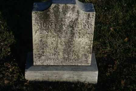 MONTGOMERY, NELSON - Morrow County, Ohio   NELSON MONTGOMERY - Ohio Gravestone Photos