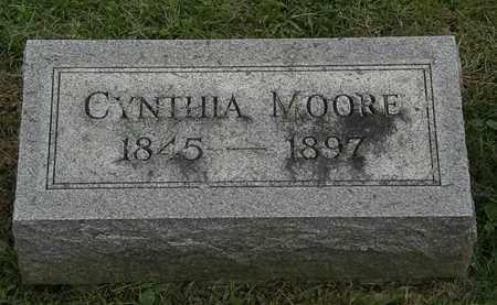 MOORE, CYNTHIA - Morrow County, Ohio | CYNTHIA MOORE - Ohio Gravestone Photos