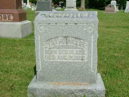 VANDERVORT MOORE, CYNTHIA - Morrow County, Ohio   CYNTHIA VANDERVORT MOORE - Ohio Gravestone Photos