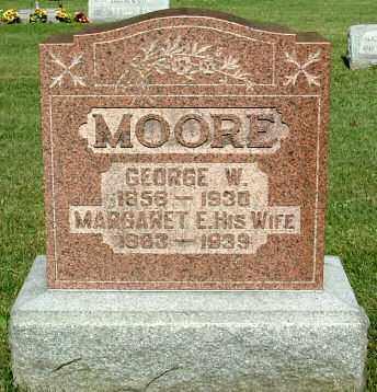 CURTIS MOORE, MARGARET E. (ELLA) - Morrow County, Ohio | MARGARET E. (ELLA) CURTIS MOORE - Ohio Gravestone Photos