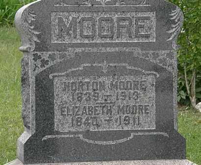 MOORE, NORTON - Morrow County, Ohio | NORTON MOORE - Ohio Gravestone Photos