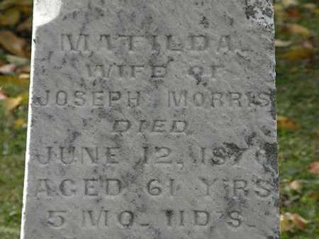 MORRIS, MATILDA - Morrow County, Ohio | MATILDA MORRIS - Ohio Gravestone Photos