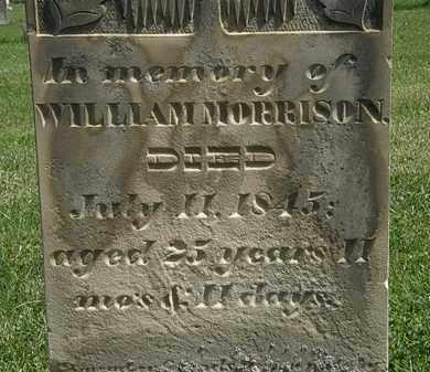 MORRISON, WILLIAM - Morrow County, Ohio | WILLIAM MORRISON - Ohio Gravestone Photos