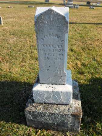 MORTON, JOHN F - Morrow County, Ohio   JOHN F MORTON - Ohio Gravestone Photos