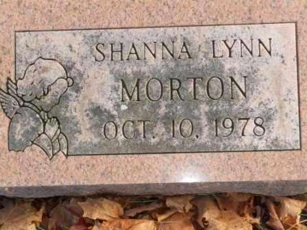 MORTON, SHANNA LYNN - Morrow County, Ohio   SHANNA LYNN MORTON - Ohio Gravestone Photos