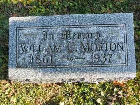 MORTON, WILLIAM C - Morrow County, Ohio | WILLIAM C MORTON - Ohio Gravestone Photos
