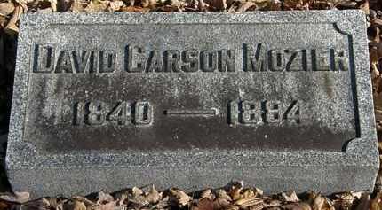 MOZIER, DAVID CARSON - Morrow County, Ohio | DAVID CARSON MOZIER - Ohio Gravestone Photos