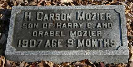 MOZIER, H. CARSON - Morrow County, Ohio   H. CARSON MOZIER - Ohio Gravestone Photos