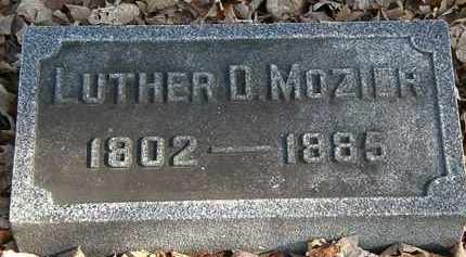 MOZIER, LUTHER D. - Morrow County, Ohio | LUTHER D. MOZIER - Ohio Gravestone Photos