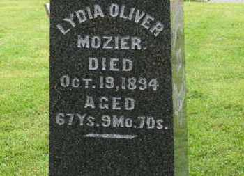 MOZIER, LYDIA - Morrow County, Ohio | LYDIA MOZIER - Ohio Gravestone Photos