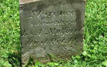 MULFORD, FLORENCE - Morrow County, Ohio | FLORENCE MULFORD - Ohio Gravestone Photos