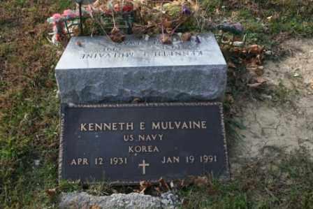 MULVAINE, KENNETH E - Morrow County, Ohio | KENNETH E MULVAINE - Ohio Gravestone Photos