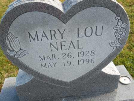 NEAL, MARY LOU - Morrow County, Ohio | MARY LOU NEAL - Ohio Gravestone Photos