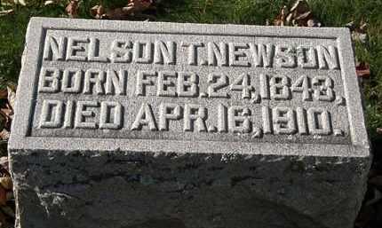 NEWSON, NELSON T. - Morrow County, Ohio | NELSON T. NEWSON - Ohio Gravestone Photos