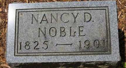 NOBLE, NANCY D. - Morrow County, Ohio | NANCY D. NOBLE - Ohio Gravestone Photos