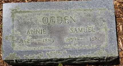 OGDEN, ANNIE - Morrow County, Ohio   ANNIE OGDEN - Ohio Gravestone Photos