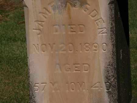 OGDEN, JAMES - Morrow County, Ohio | JAMES OGDEN - Ohio Gravestone Photos