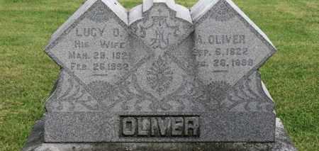OLIVER, LUCY O. - Morrow County, Ohio | LUCY O. OLIVER - Ohio Gravestone Photos