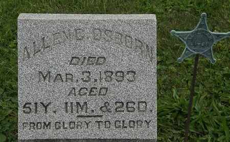 OSBORN, ALLEN G. - Morrow County, Ohio | ALLEN G. OSBORN - Ohio Gravestone Photos