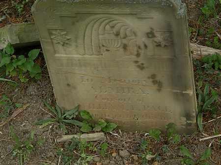 PAGE, WILLIAM E. - Morrow County, Ohio   WILLIAM E. PAGE - Ohio Gravestone Photos