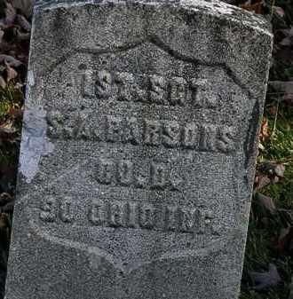 PARSONS, S.A. - Morrow County, Ohio   S.A. PARSONS - Ohio Gravestone Photos