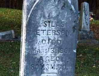 PETERSON, SILAS - Morrow County, Ohio | SILAS PETERSON - Ohio Gravestone Photos