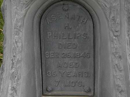 PHILLIPS, ASENATH H. - Morrow County, Ohio | ASENATH H. PHILLIPS - Ohio Gravestone Photos
