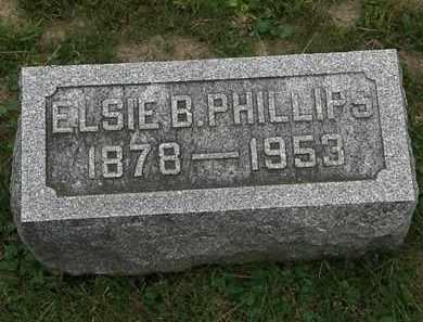 PHILLIPS, ELSIE B. - Morrow County, Ohio | ELSIE B. PHILLIPS - Ohio Gravestone Photos