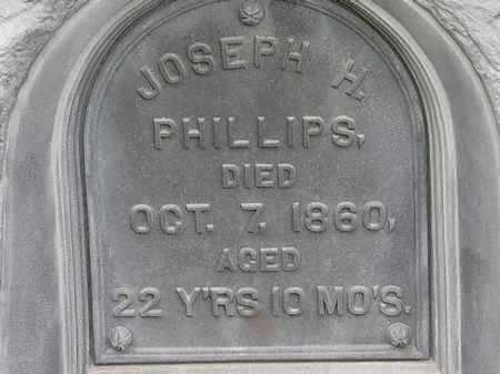 PHILLIPS, JOSEPH H. - Morrow County, Ohio   JOSEPH H. PHILLIPS - Ohio Gravestone Photos