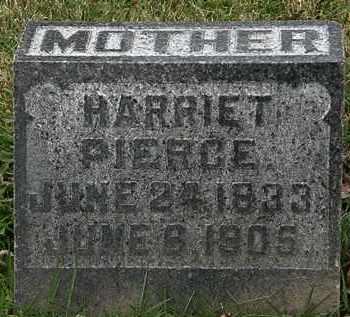 PIERCE, HARRIET - Morrow County, Ohio   HARRIET PIERCE - Ohio Gravestone Photos
