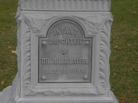 PIERCE, LAURA - Morrow County, Ohio | LAURA PIERCE - Ohio Gravestone Photos