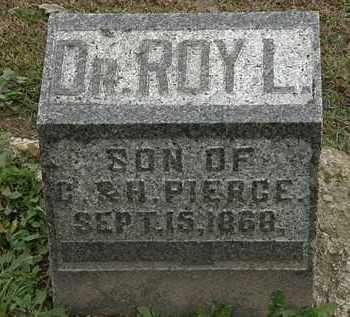 PIERCE, ROY L. - Morrow County, Ohio   ROY L. PIERCE - Ohio Gravestone Photos
